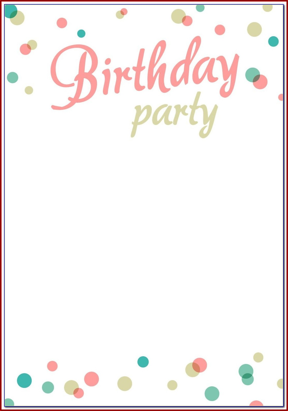 John Deere Birthday Invitation Templates
