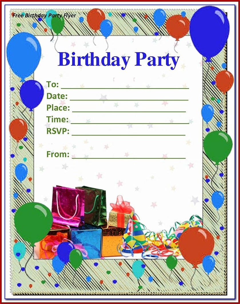 John Deere Party Invitation Templates