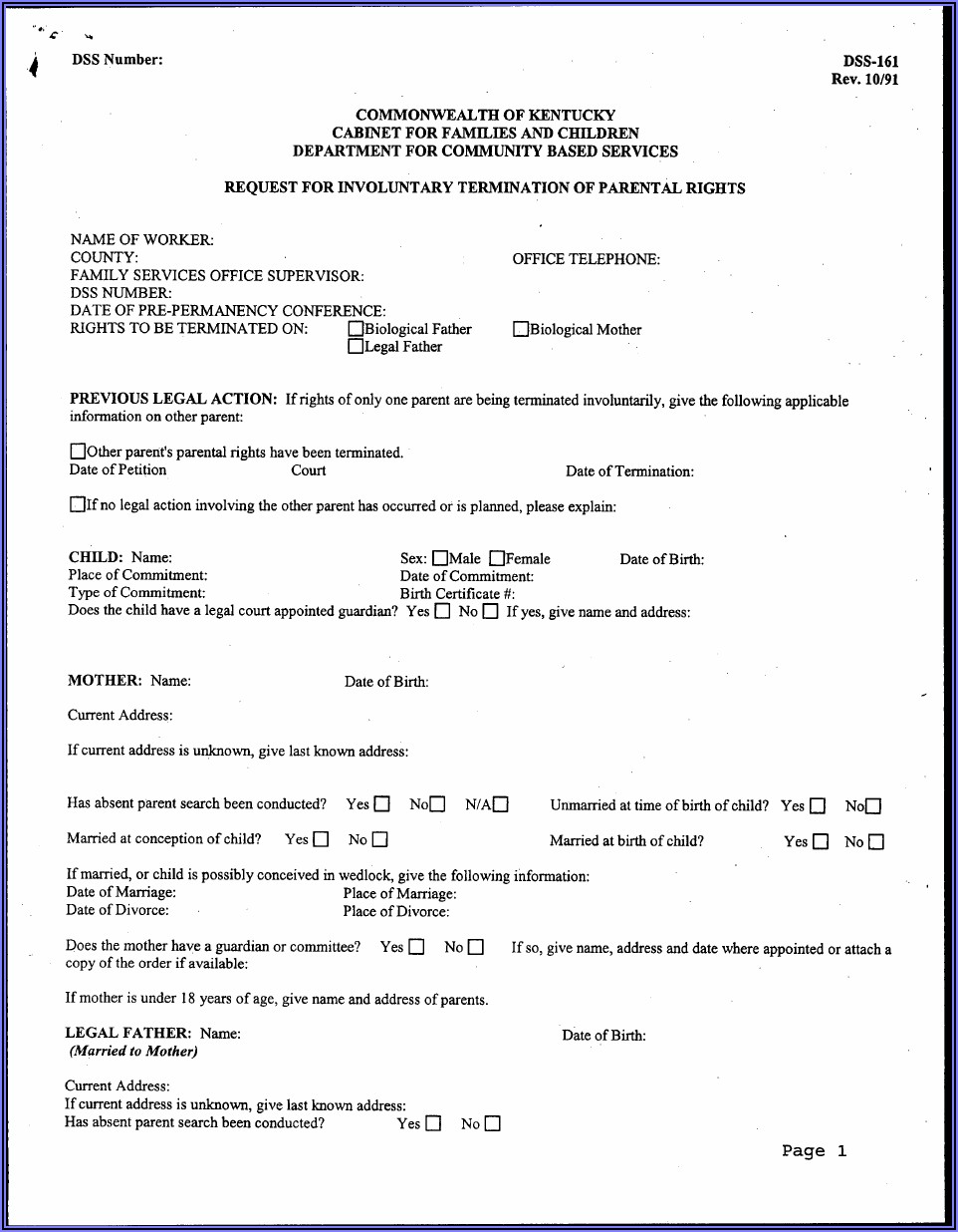 Kentucky Legal Aid Divorce Forms