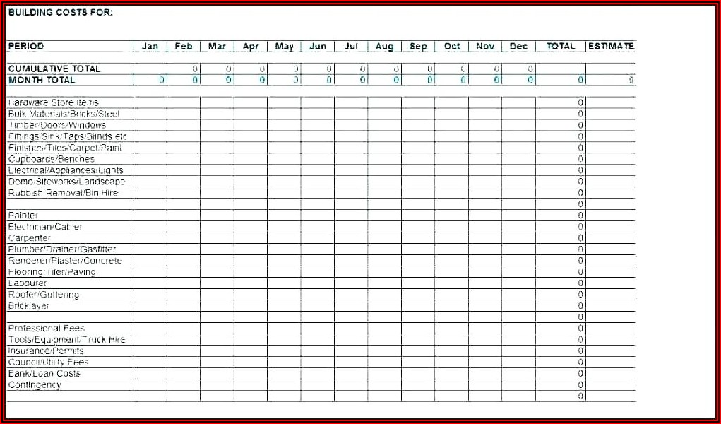 Lawn Mower Maintenance Schedule Template