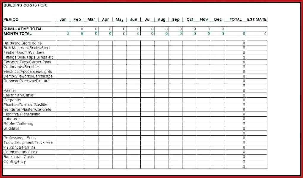 Lawn Mower Maintenance Schedule Template