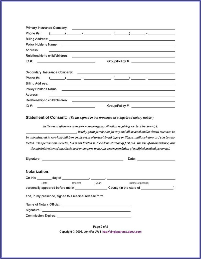 Legal Guardianship Forms For A Child In Texas