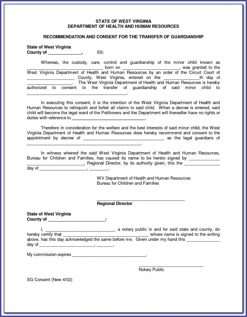 Legal Guardianship Forms Texas Pdf