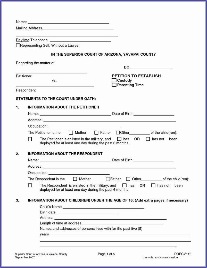 Legal Guardianship Paperwork Texas