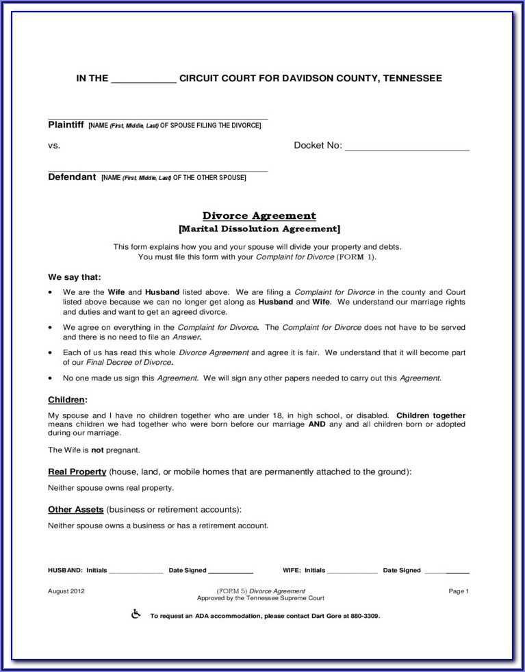 Montgomery County Tn Court Forms