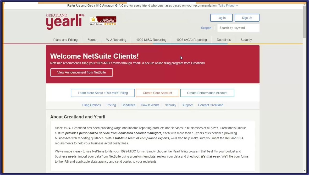 Netsuite 1099 Forms