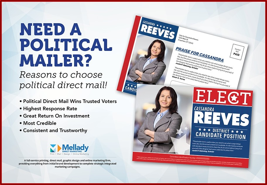 Political Campaign Mailer Template