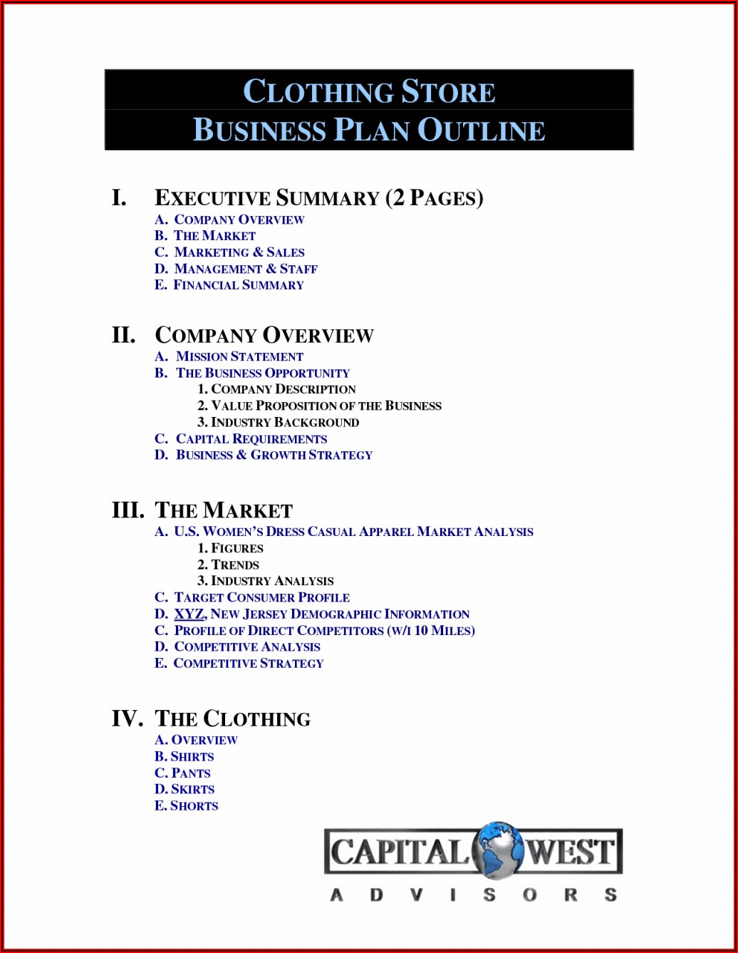 Pro Forma Financial Statements Template Free