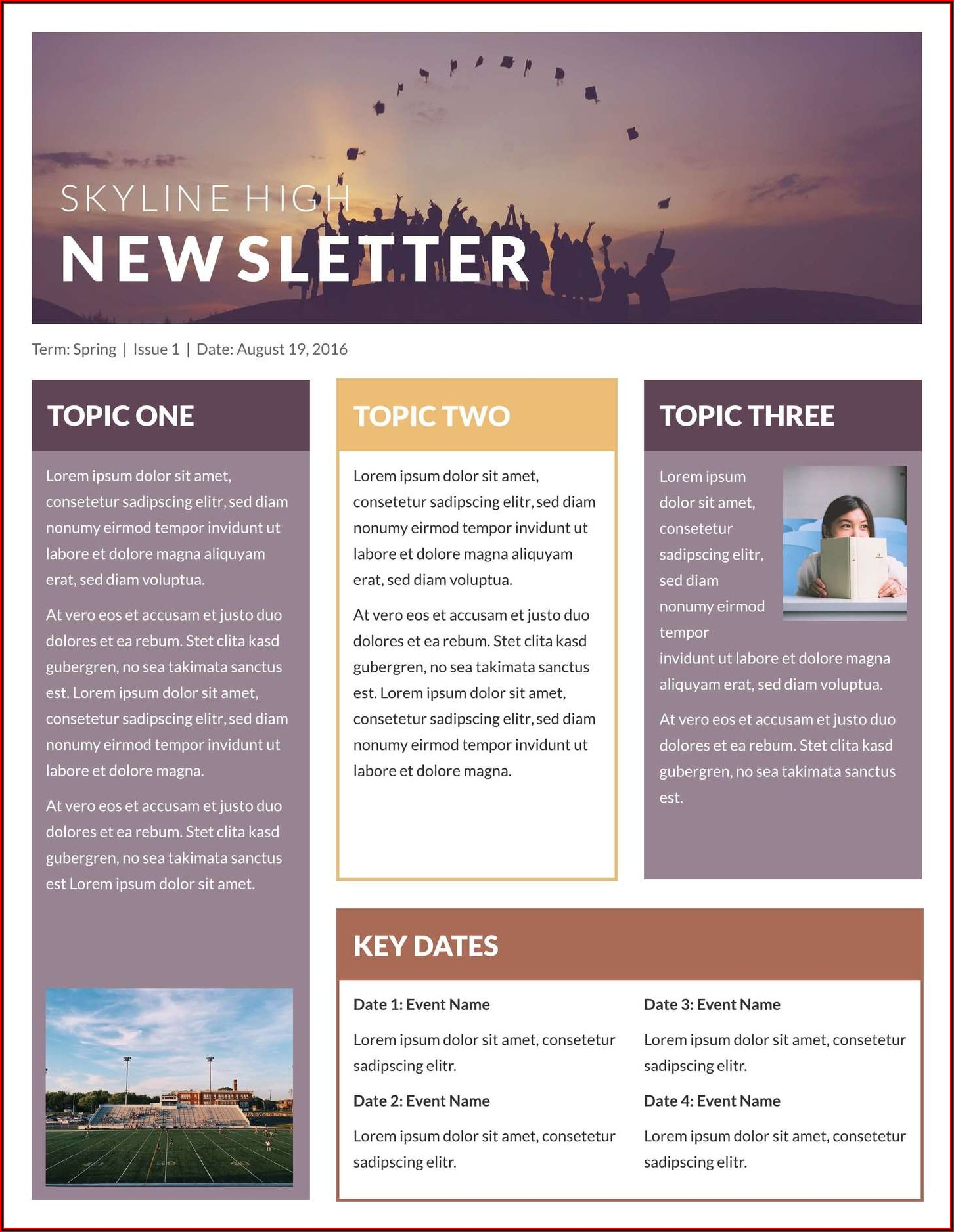 Publisher Templates For Newsletters