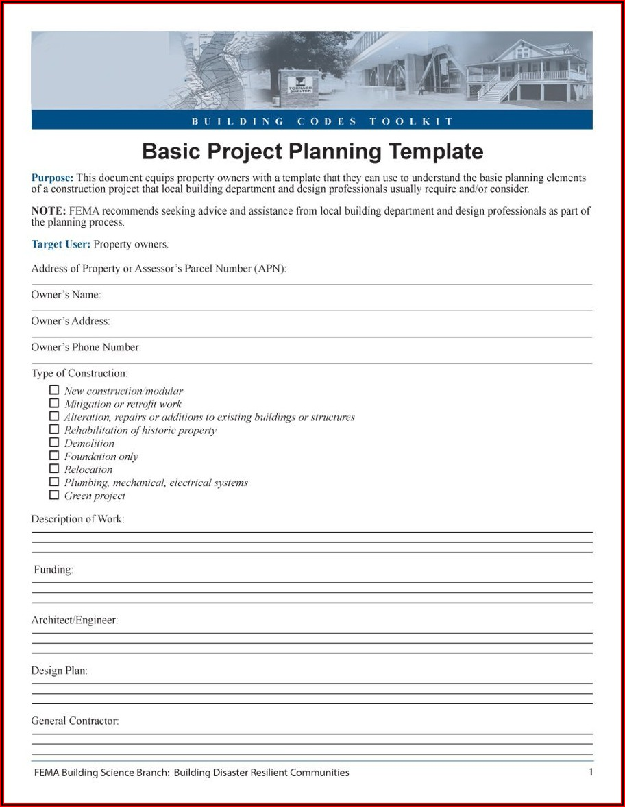 Simple Project Timeline Template Excel Free