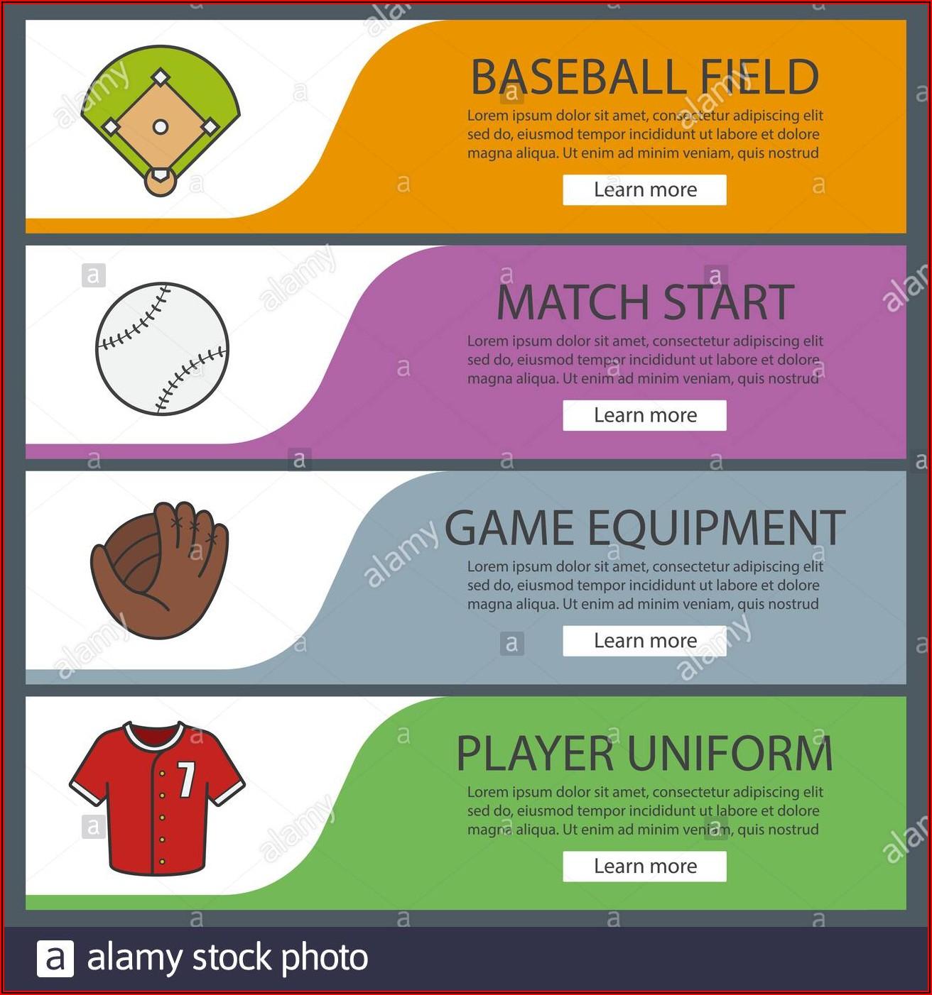 Softball Banner Templates