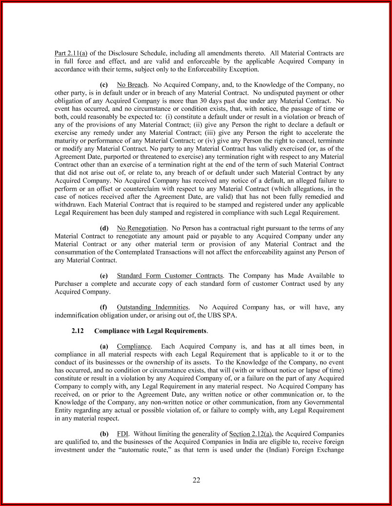 Sublicense Agreement Template India