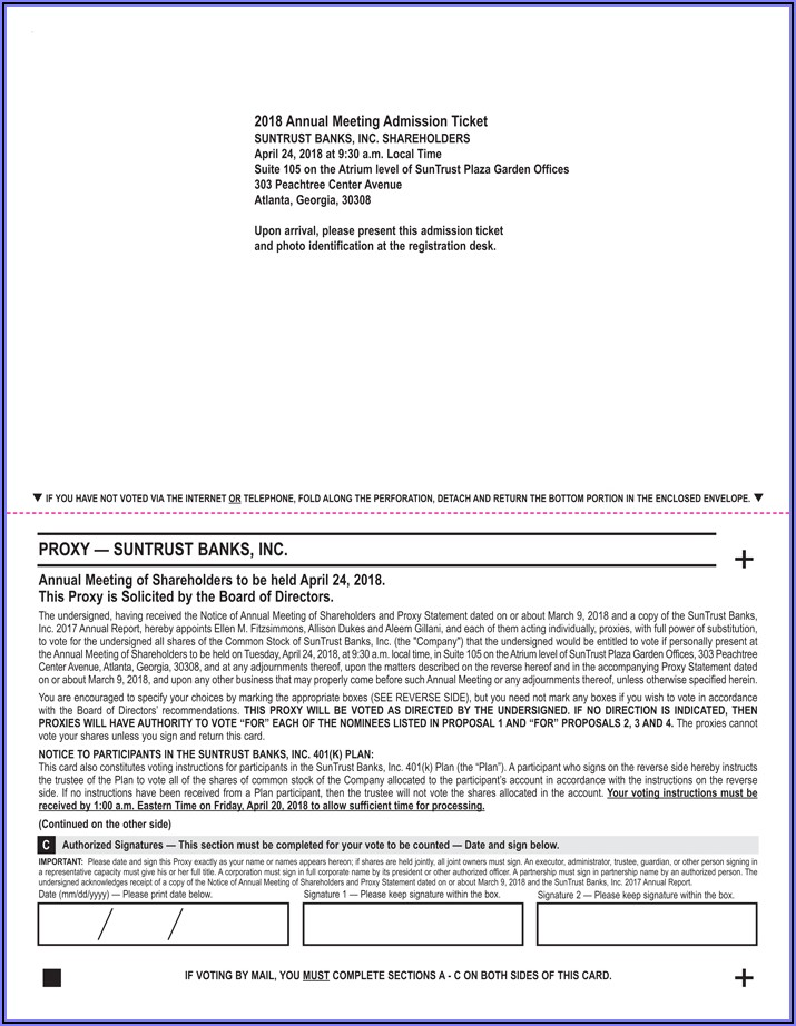 Suntrust Loan Modification Forms