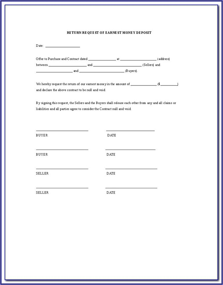 Texas Hunting Lease Contract Sample