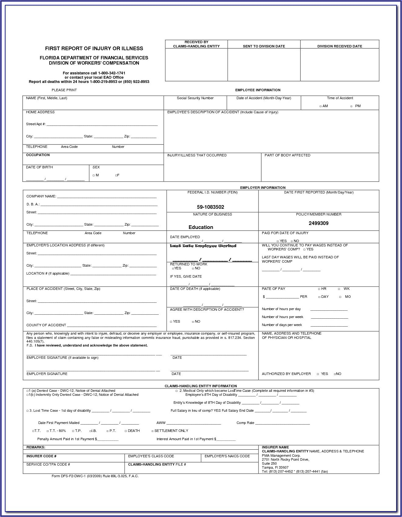 Texas Mileage Reimbursement Form