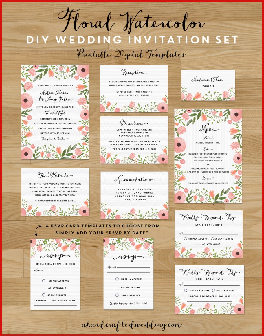 Wedding Save The Date Postcard Templates Free
