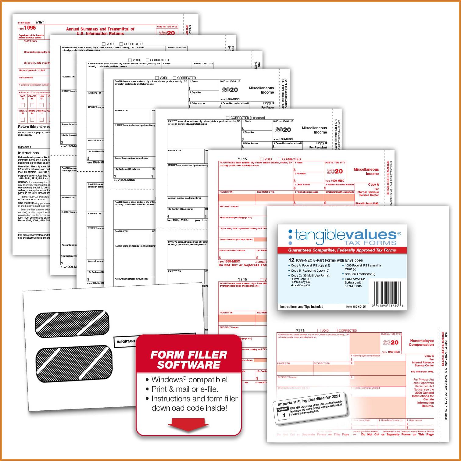 1099 Form Filler Software