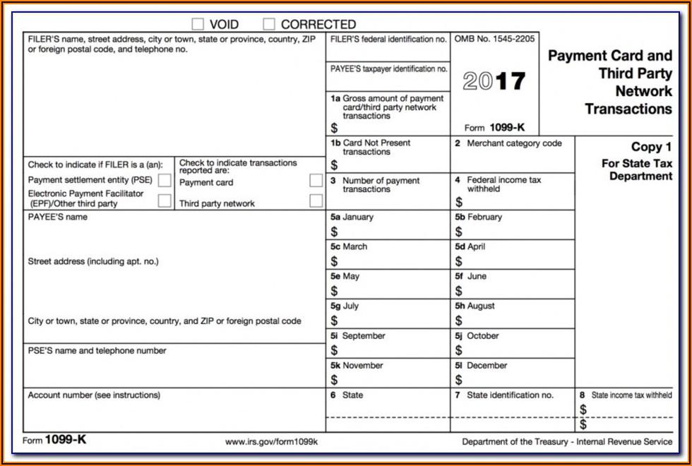 1099 Form Michigan Printable