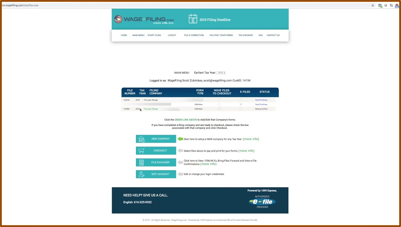1099 Misc Forms Online