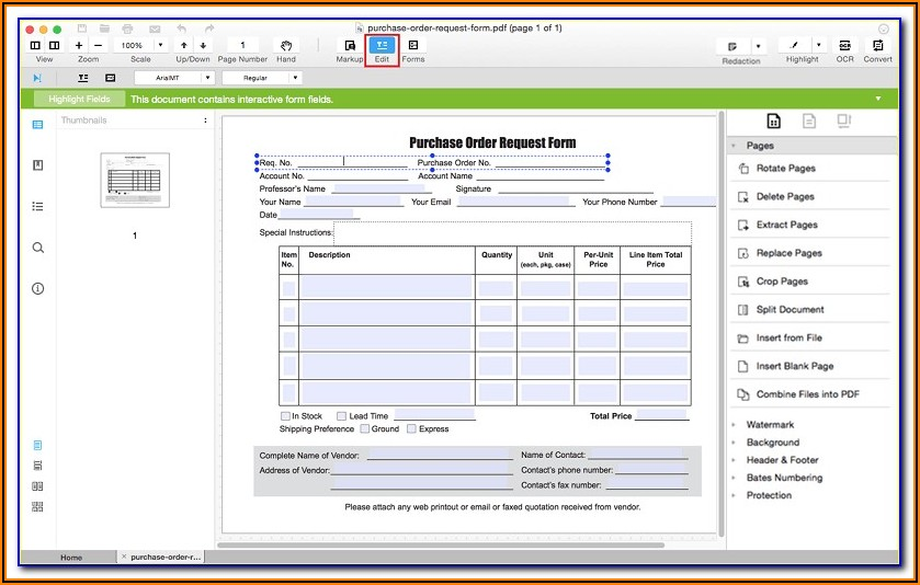 Adobe Fillable Forms Software