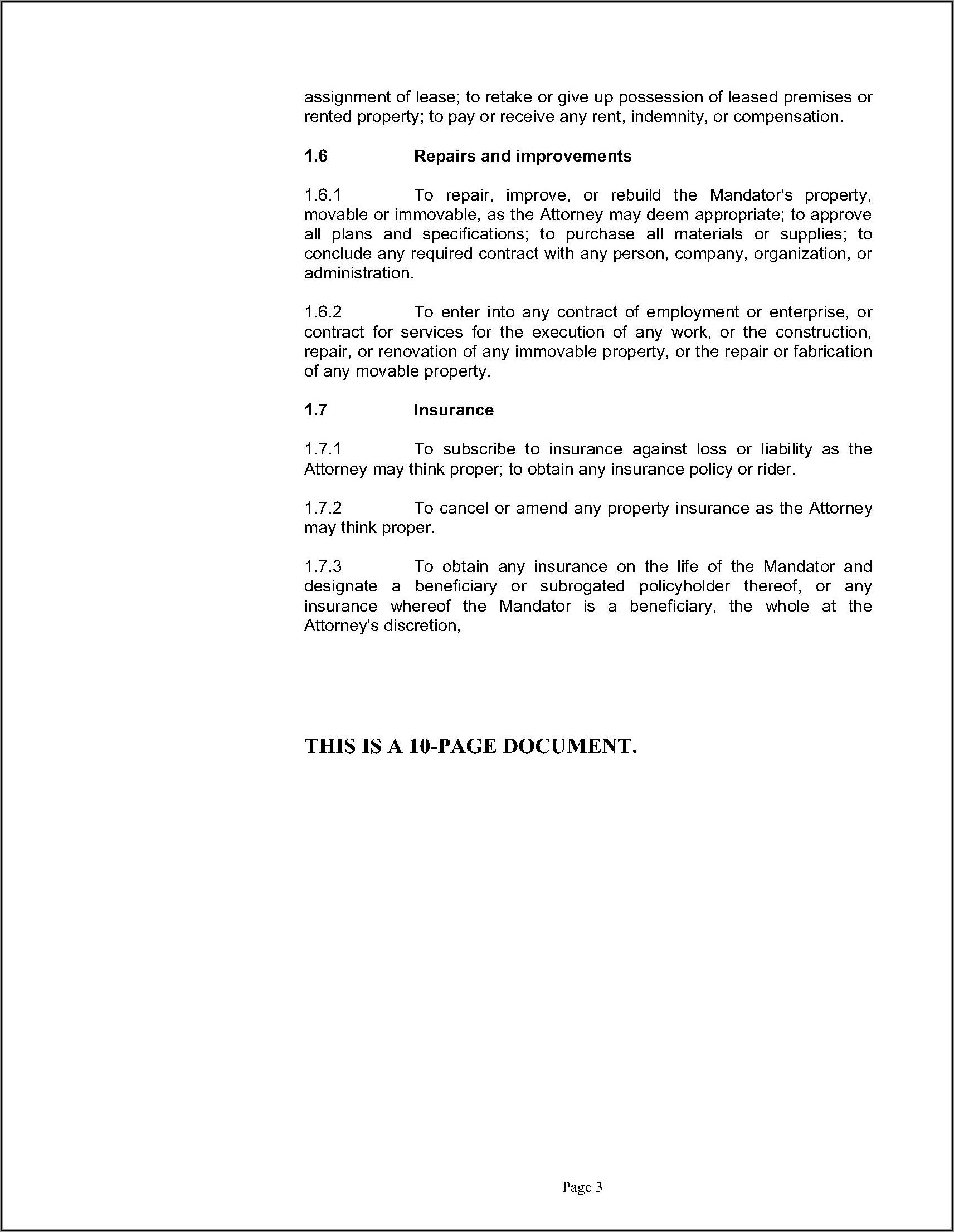 Advance Medical Directives Form Quebec