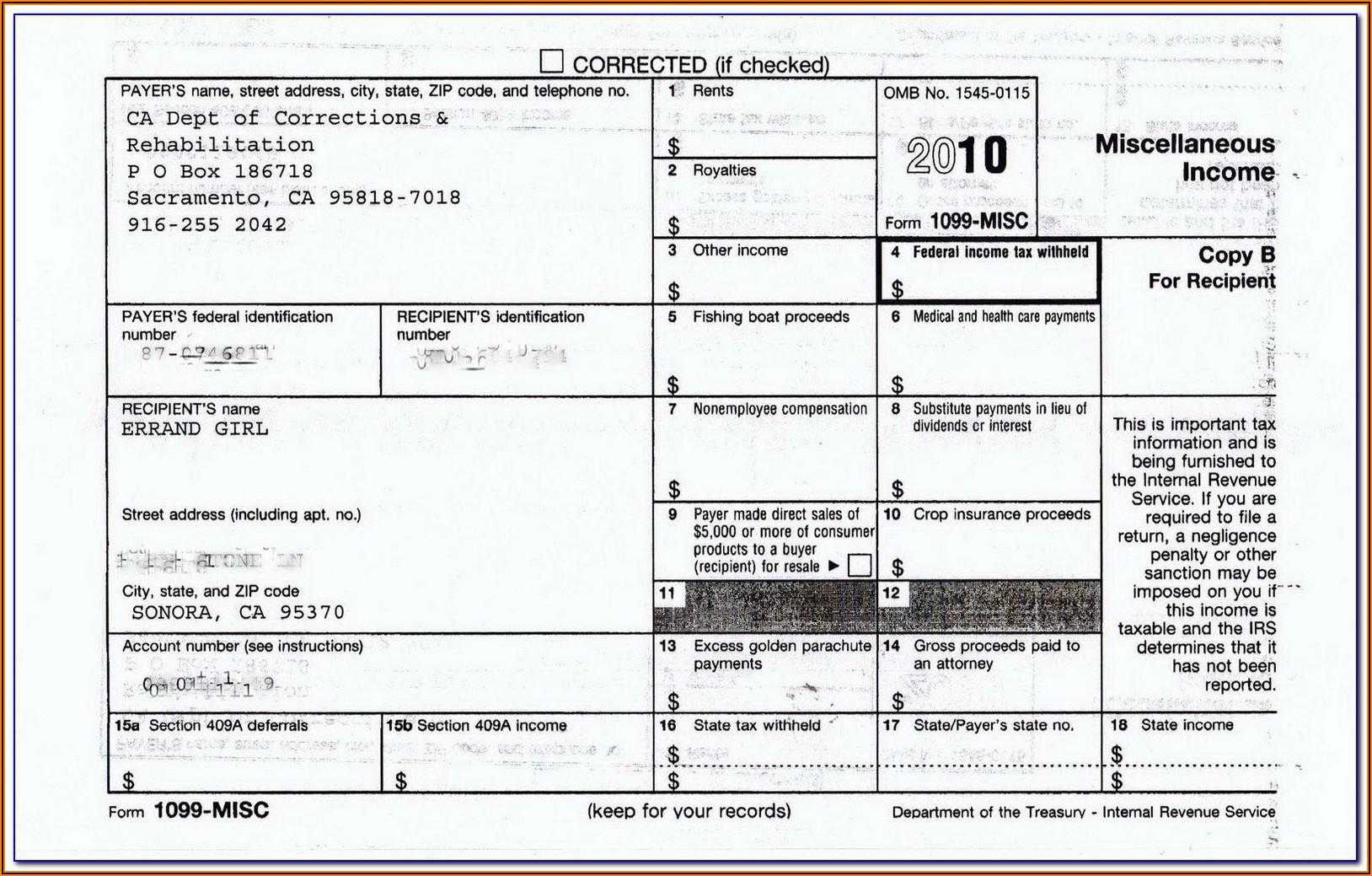 Arizona 1099 Form 2019
