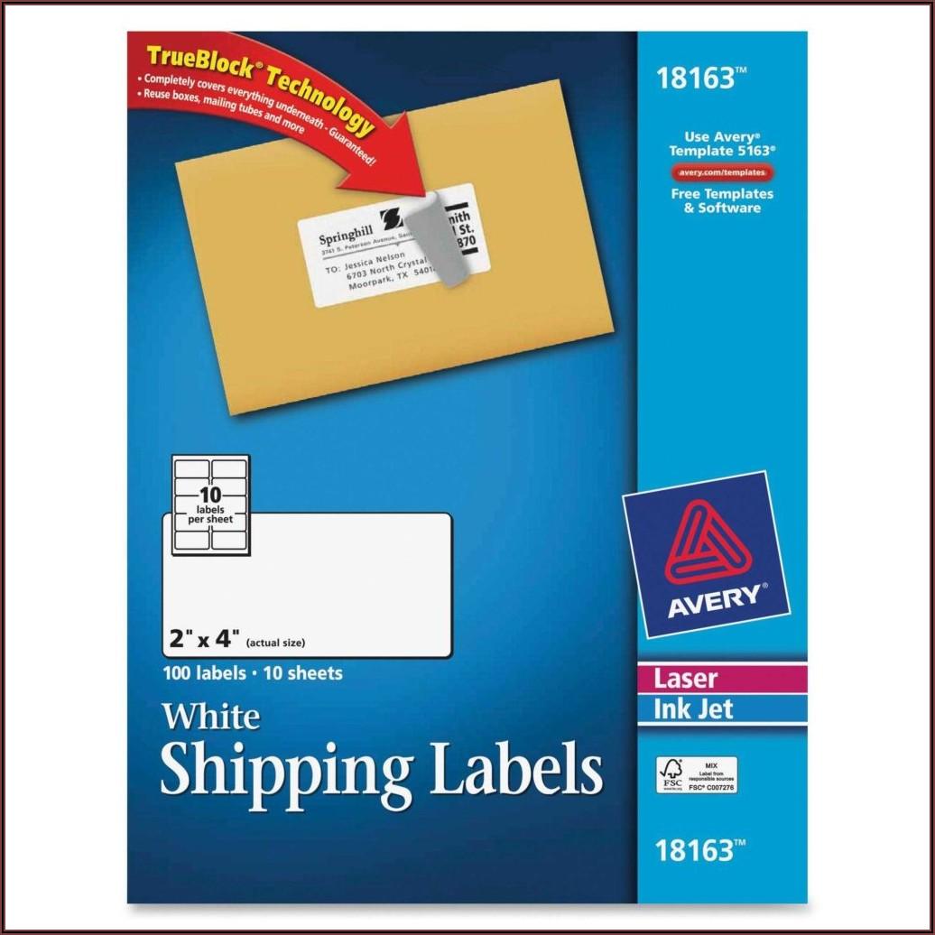 Avery Sticker Template 6878