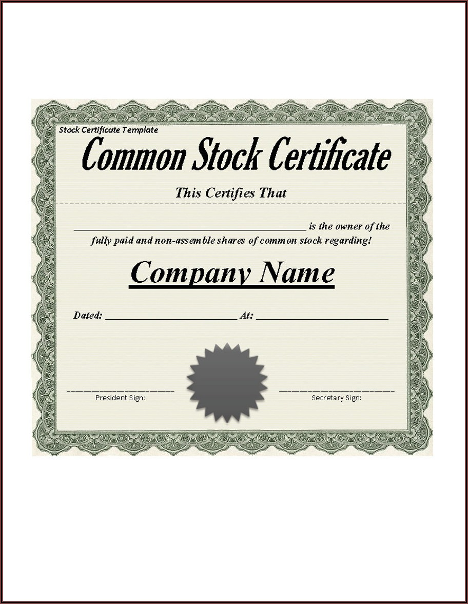 Blank Professional Certificate Templates
