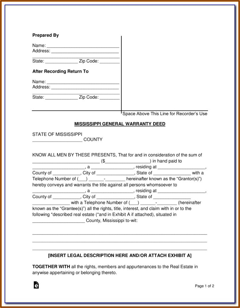 Blank Quit Claim Deed Form Oregon