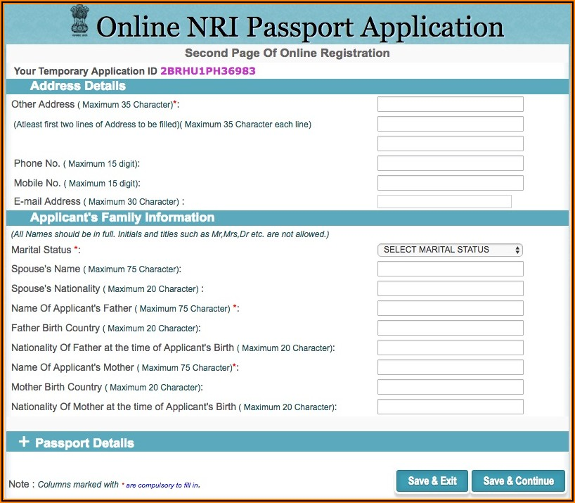 British Passport Renewal Forms Online
