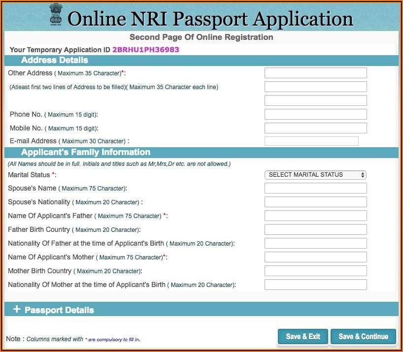 British Passport Renewal Forms Online