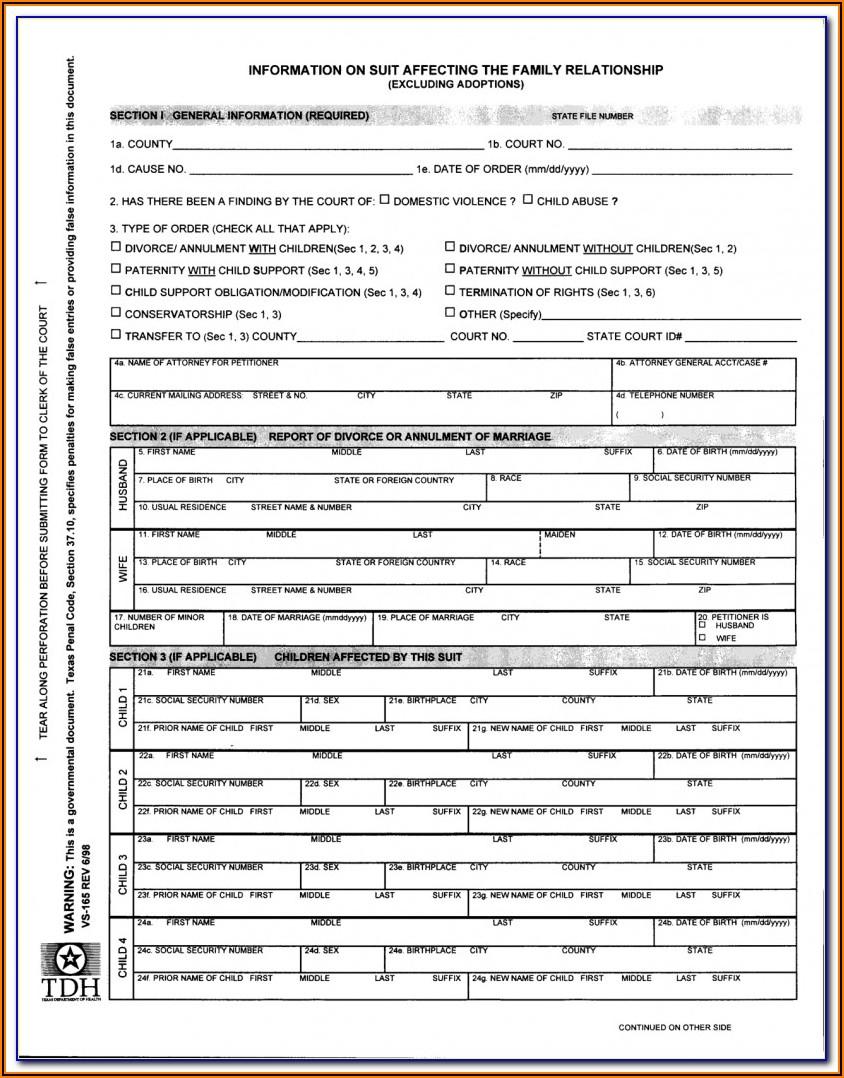Clackamas County Divorce Forms
