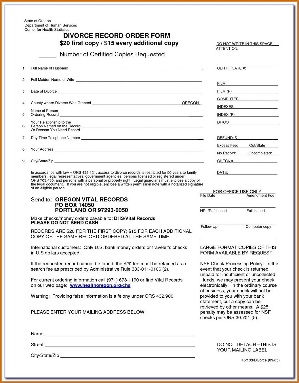 Clackamas County Probate Court Forms