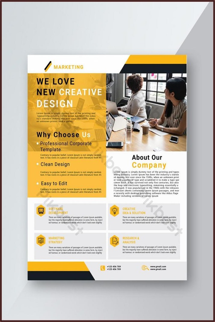 Corporate Flyer Templates Psd Free Download