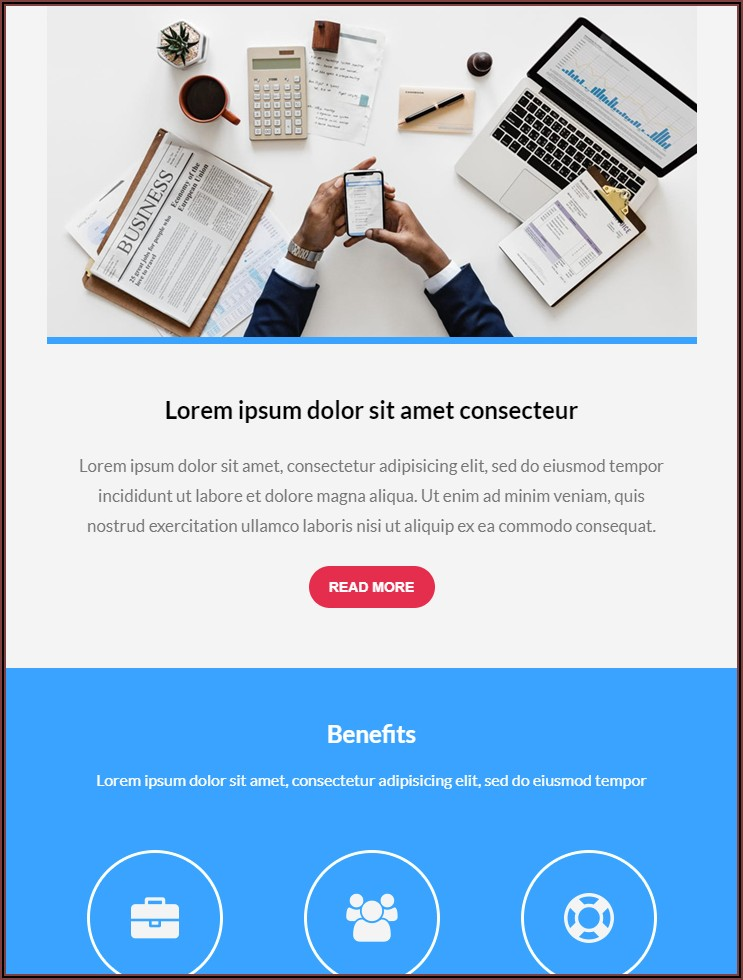 Custom Coded Email Templates Mailchimp