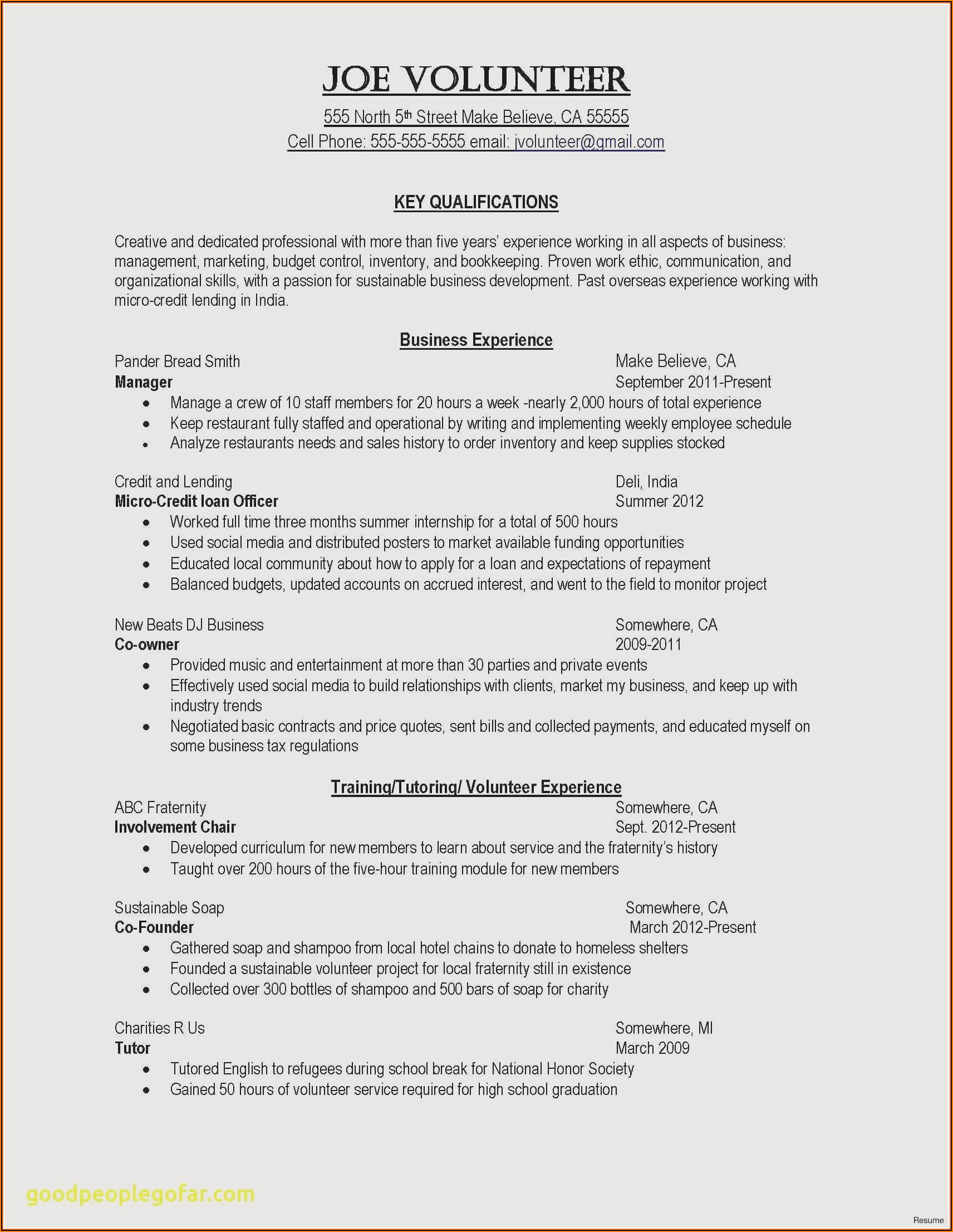 Cv Template For Nurses Download
