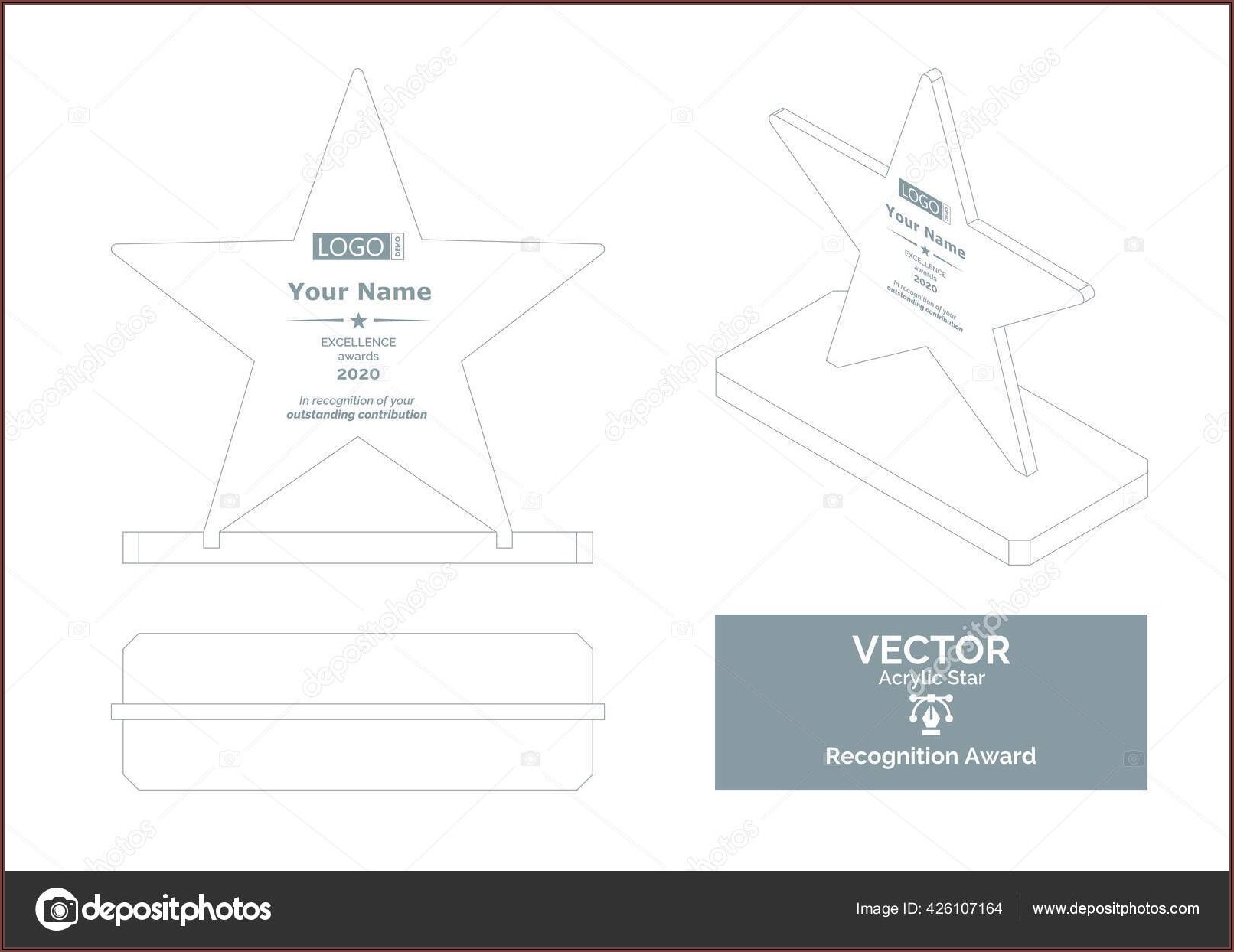 Employee Recognition Award Template