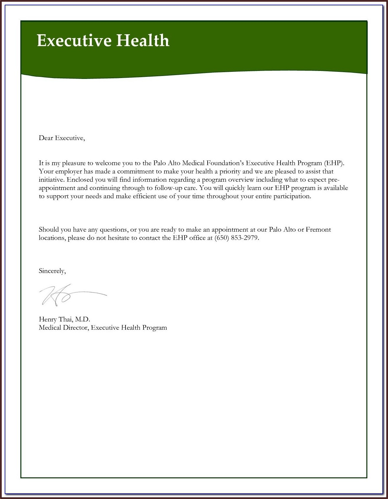 Free Appointment Reminder Email Template