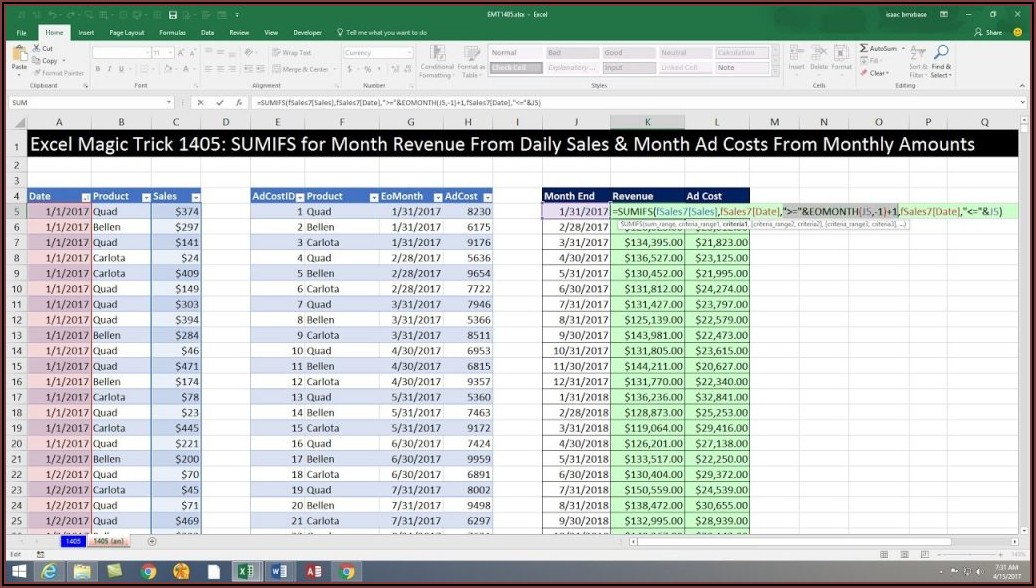 Free Excel Sales Call Report Template