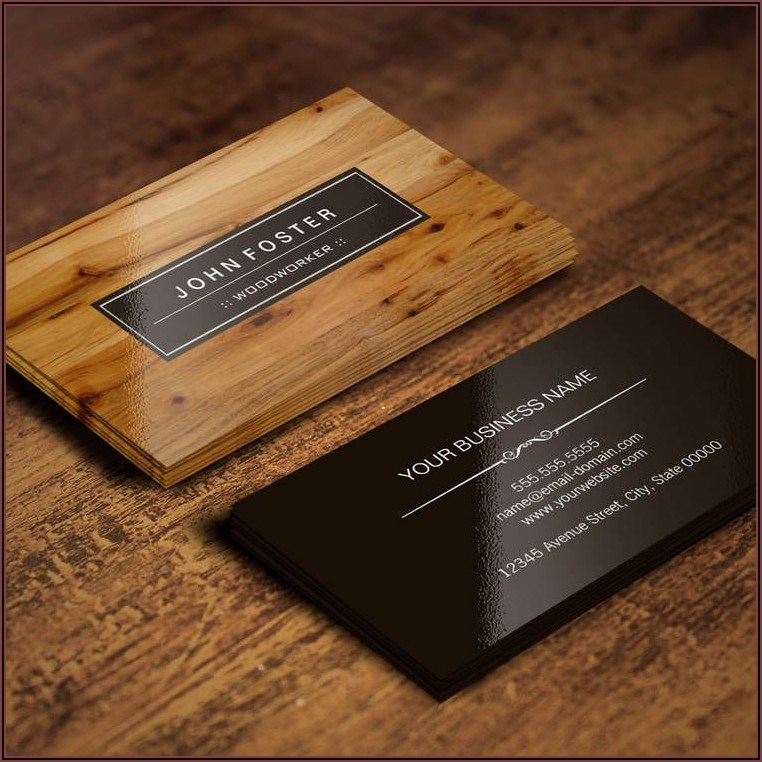 Free Printable Handyman Business Card Templates