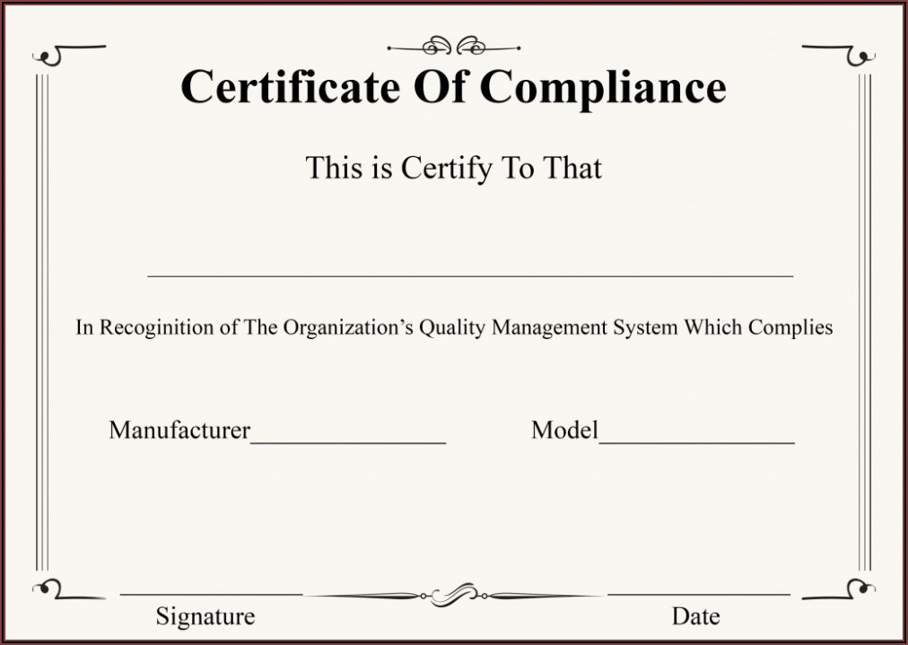 Free Printable Professional Certificate Templates