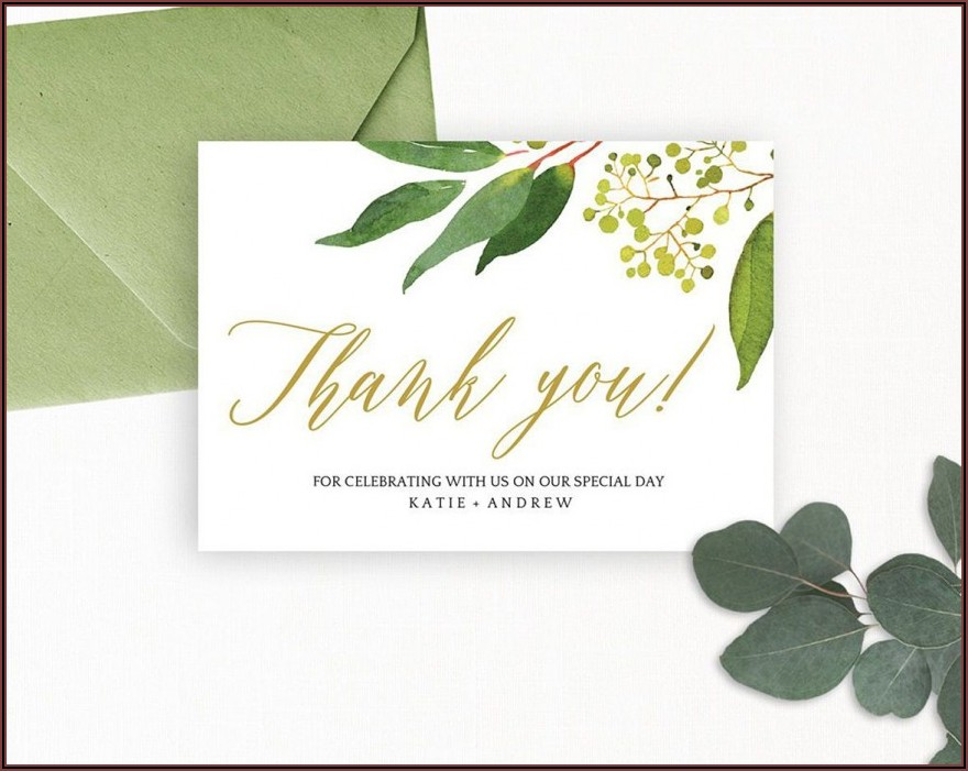 Funeral Thank You Card Templates Free