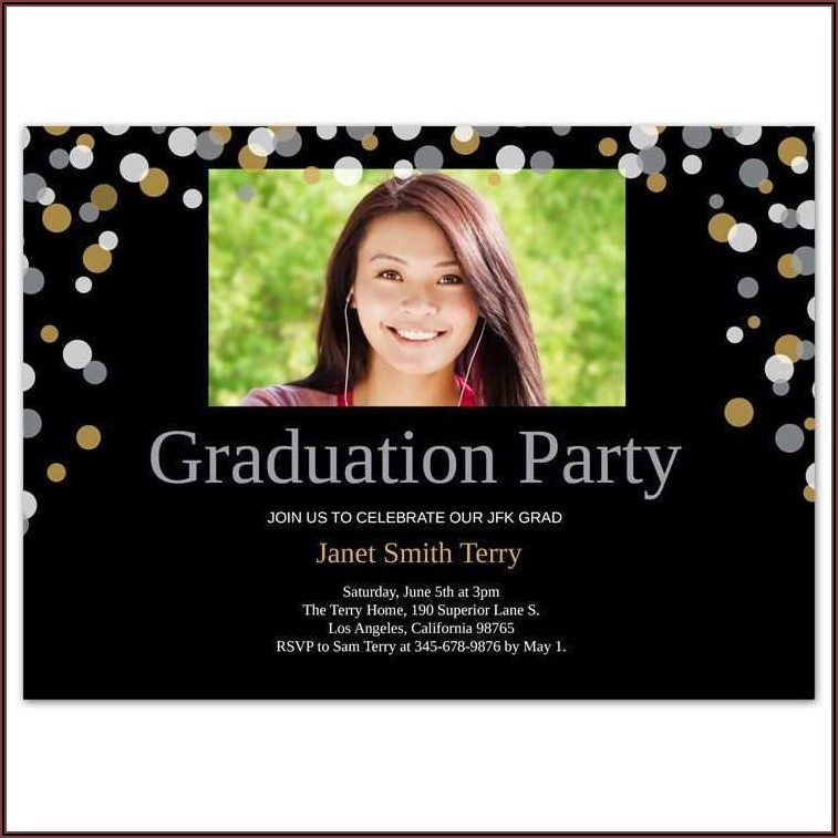Graduation Invitation Design Templates