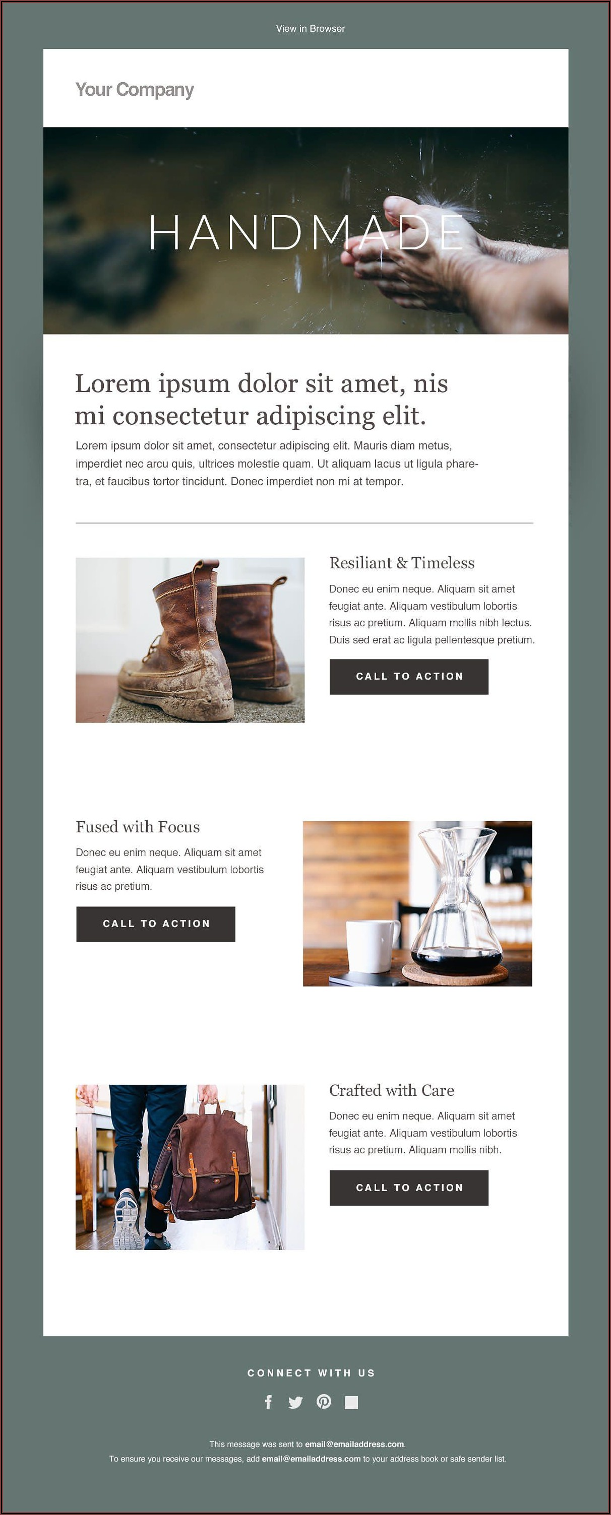 Html Email Templates Mailchimp