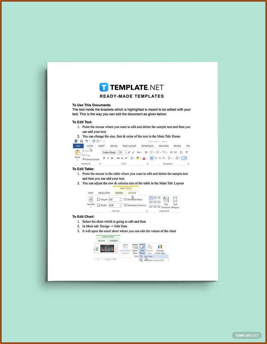 Landscape Contract Template Word