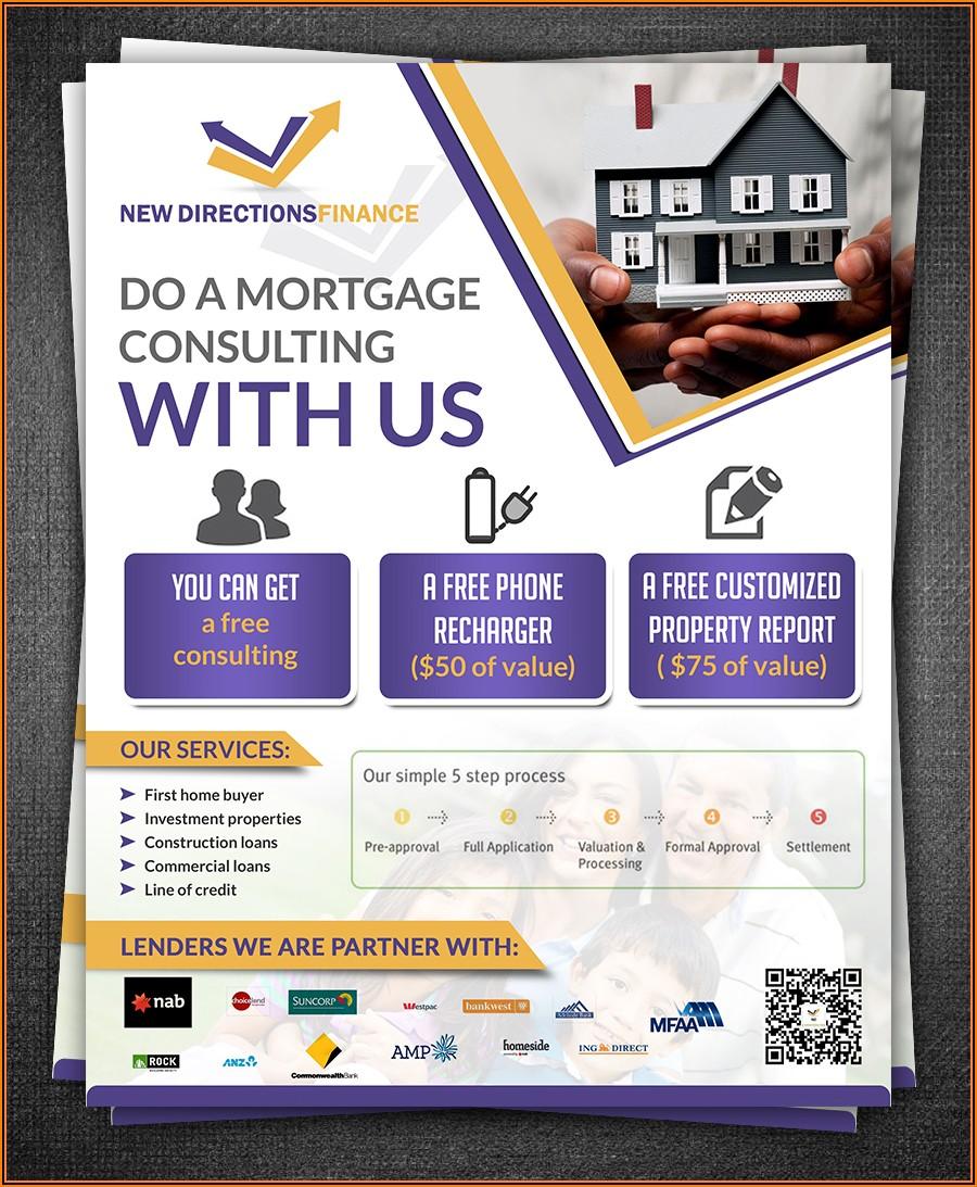 Mortgage Broker Flyer Template