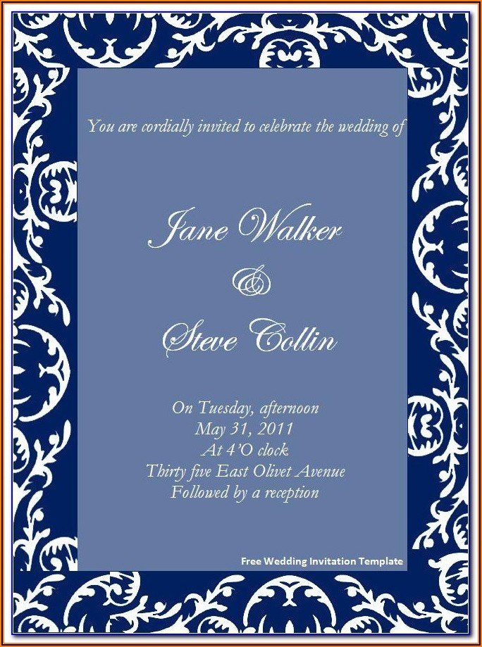 Muslim Wedding Invitation Ppt Templates Free Download