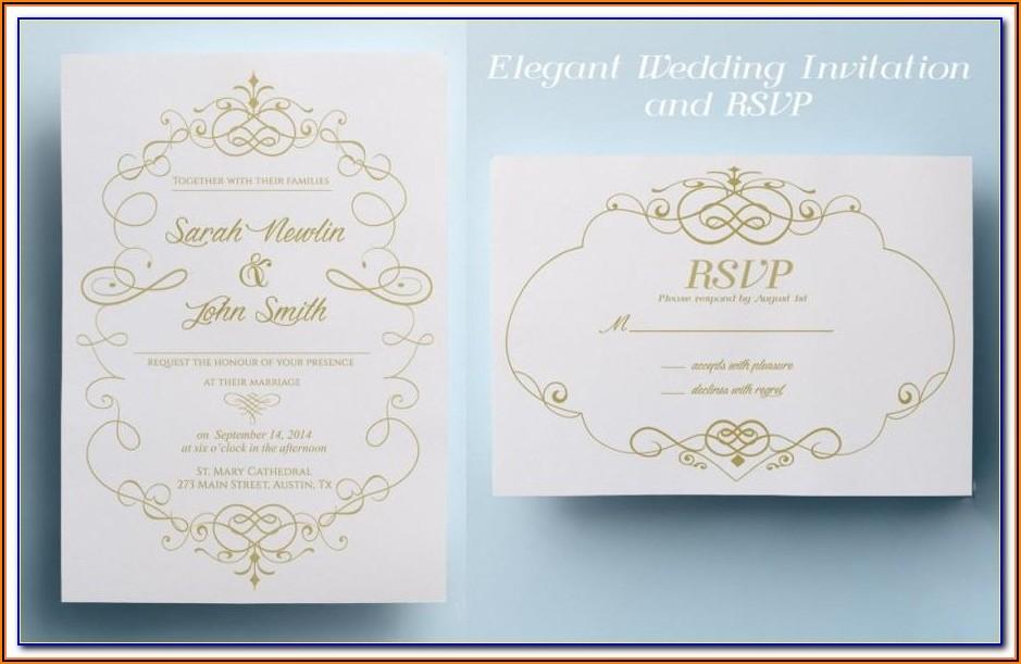 Muslim Wedding Invitation Templates Free