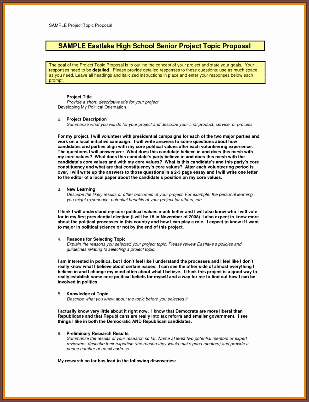 Ngo Project Proposal Example Pdf