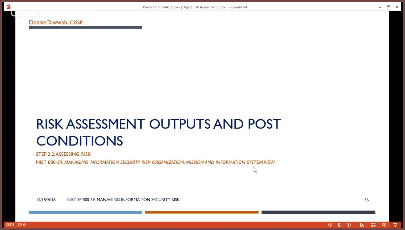 Nist Sp 800 30 Risk Assessment Template